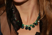 Natalie Portman Gemstone Choker Necklace