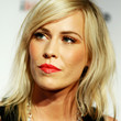 Natasha Bedingfield Hair - Medium Wavy Cut with Bangs