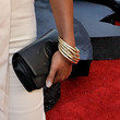 Nia Long Leather Clutch