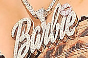 Nicki Minaj Name Pendant Necklace
