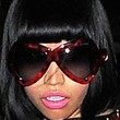 Nicki Minaj Oversized Sunglasses