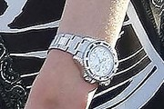 Nicky Hilton Sterling Bracelet Watch