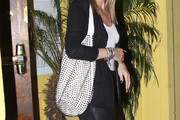 Nicky Hilton Studded Hobo Bag