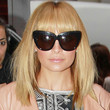 Nicole Richie Hair - Medium Straight Cut with Bangs