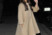 Nikki Reed Evening Coat
