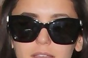 Nina Dobrev Novelty Sunglasses