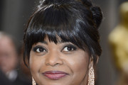 Octavia Spencer Twisted Bun