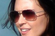 Odette Annable Aviator Sunglasses