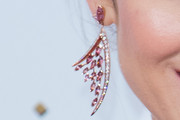Olga Kurylenko Chandelier Earrings