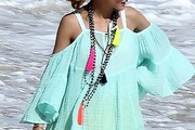 Olivia Palermo Beaded Statement Necklace