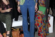 Olivia Palermo High-Waisted Jeans