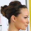 Olivia Wilde Hair - Bobby Pinned updo