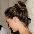 Olivia Wilde Hair - Loose Bun
