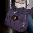 Olivia Wilde Patent Leather Shoulder Bag