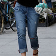 Olivia Wilde Clothes - Ripped Jeans