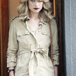 Olivia Wilde Clothes - Trenchcoat