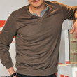 Orlando Bloom Clothes - V-neck Sweater