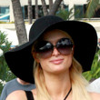 Paris Hilton Wide Brimmed Hat