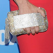 Paula Abdul Gemstone Inlaid Clutch