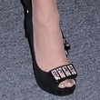 Paula Abdul Peep Toe Pumps