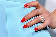 Paula Patton Red Nail Polish