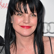 Pauley Perrette Long Straight Cut with Bangs