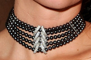 Paz de la Huerta Diamond Choker Necklace