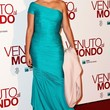Penelope Cruz Clothes - One Shoulder Dress