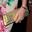 Penny Lancaster Handbags - Metallic Clutch
