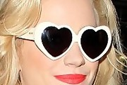 Pixie Lott Heart Sunglasses