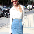 Poppy Delevingne Clothes - Button Down Shirt