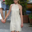 Portia de Rossi Halter Dress