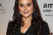 Preity Zinta Long Curls