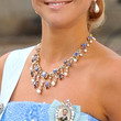 Princess Madeleine Silver Statement Necklace