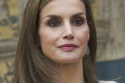 Queen Letizia of Spain Shoulder Length Hairstyles