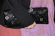 Rachel Bilson Gemstone Inlaid Clutch