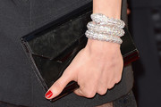 Rachel Weisz Patent Leather Clutch