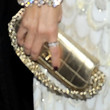 Rachel Zoe Metallic Clutch
