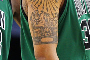 Rasheed Wallace Artistic Design Tattoo