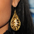 Raven Symone Jewelry - Gold Dangle Earrings