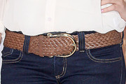 Rebecca Black Leather Belt