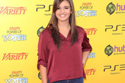 Rebecca Black Gets Casual on the Red Carpet