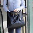 Renee Zellweger Handbags - Leather Shoulder Bag