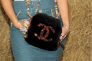 Rihanna Gemstone Inlaid Purse