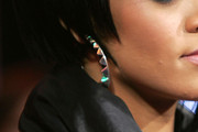 Rihanna Sterling Hoops