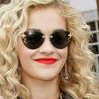Rita Ora Sunglasses - Rimless Sunglasses