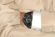 Robert Downey Jr. Leather Band Quartz Watch