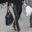 Robin Roberts Clothes - Leather Pants