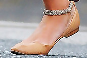 Rosie Huntington-Whiteley Ballet Flats