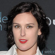 Rumer Willis Hair - Messy Cut